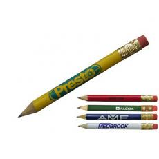 Health & Safety - Golf Pencil with eraser