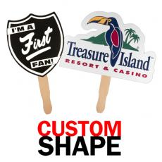 Home & Family - Custom Shaped Hand Fan