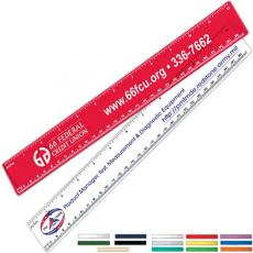 "Pens, Pencils & Markers - 12"" Promotional Ruler"