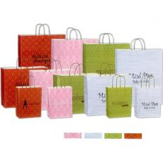 Pens, Pencils & Markers - Blank Bag - Kaleidoscope Paper Shopping Bag