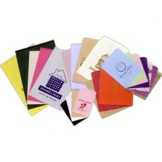 Office Supplies - Colors Paper Merchandise Bag - Ink Printing
