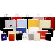 Pens, Pencils & Markers - Blank Bags - Metallic High Gloss Paper Shopping