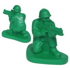 Office Supplies - Army Man Stress Reliever