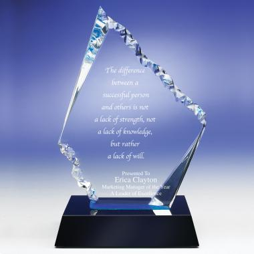 Glacier Acrylic Award