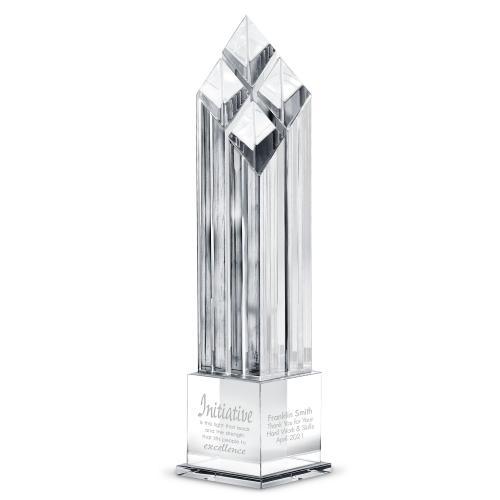 Diamond Synergy Crystal Award