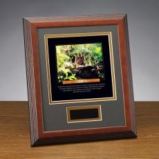 Essence of Respect Tiger Framed Award
