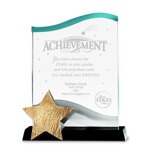 Catch a Star Achievement Acrylic  Award