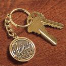 Attitude is Everything Medallion Key Chain
