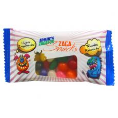 Tradeshow & Event Supplies - Zaga Snack Promo Pack Candy Bag with Jelly Beans