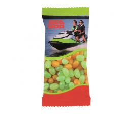 Tradeshow & Event Supplies - Zaga Snack Promo Pack Candy Bag with Corporate Jelly Beans