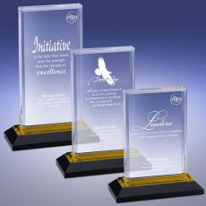 All Trophy Awards - Gold Reflection Acrylic Award