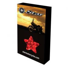 Health & Safety - Customizable Star Box Packaging with Cinnamon Red Hots