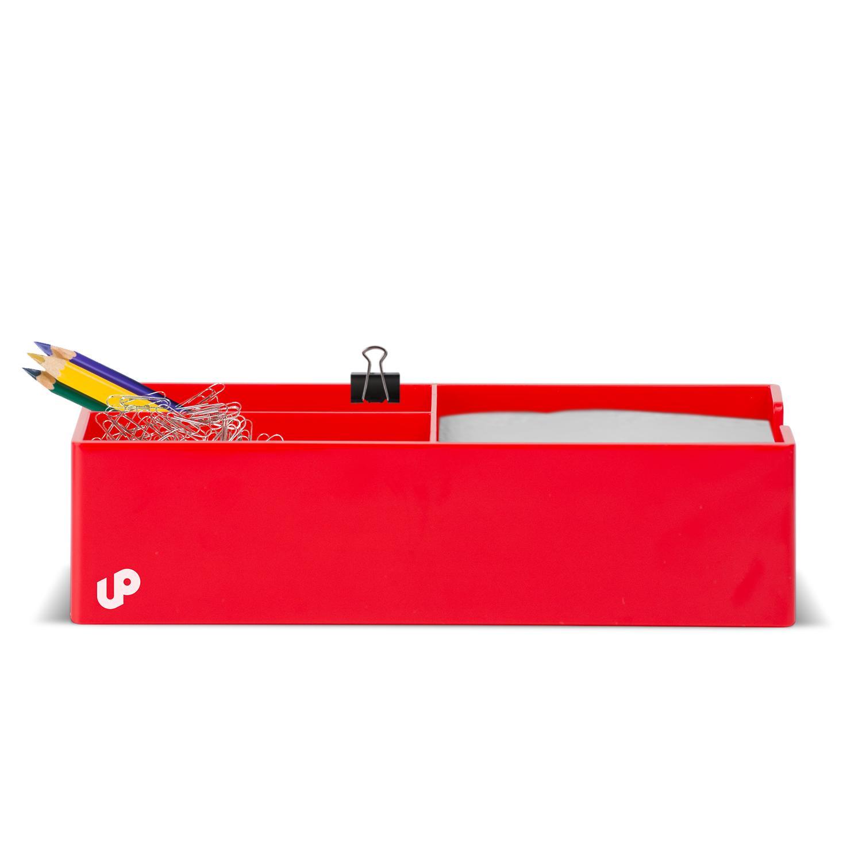 Brighten up red desk organizer desk accessories organizers - Desk accessories and organizers ...