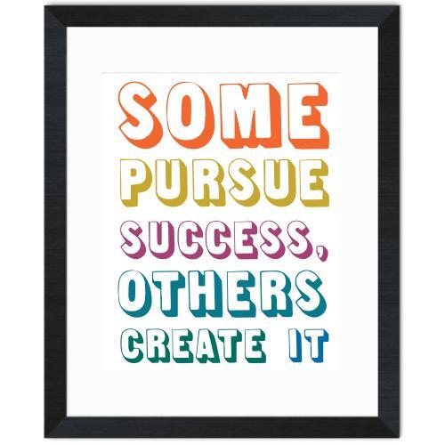 Create Success Inspirational Art