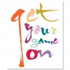 New Products - Game On Inspirational Art