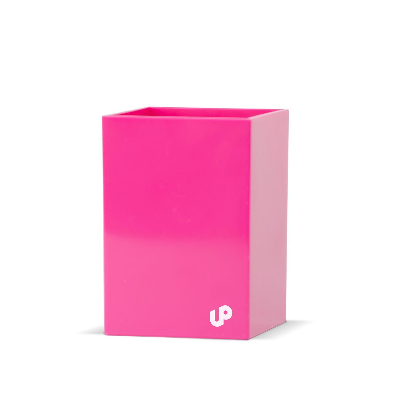 Brighten Up Pink Pen Cup Pen Cups Desk Accessories