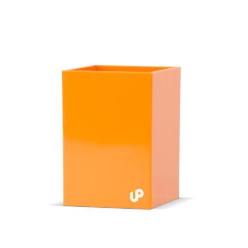 Brighten Up Orange Pen Cup
