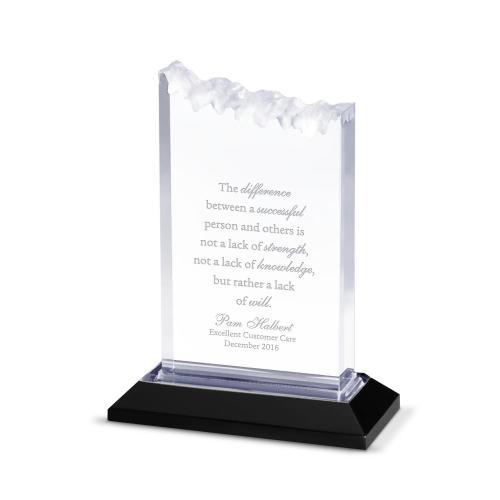 Silver Summit Reflection Acrylic Award