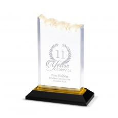Entire Collection - Gold Summit Reflection Acrylic Award