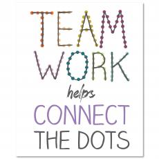 New Products - Teamwork Connects Inspirational Art