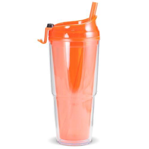 Orange Brighten Up 16oz Tumbler