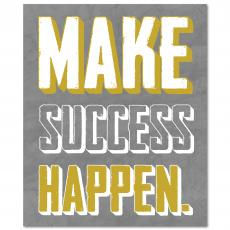 New Products - Make Success Happen Inspirational Art