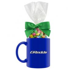 Candy, Food & Gifts - Ceramic Mug with Chewing Gum