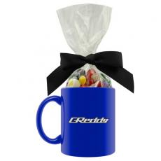 Candy, Food & Gifts - Ceramic Mug with Jelly Beans