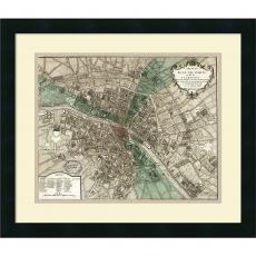 All Motivational Posters - Vintage Reproduction Plan de Paris Office Art