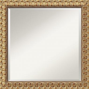 Florentine Gold Mirror - Square Office Art