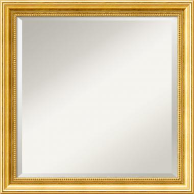 Townhouse Gold Mirror - Square Office Art