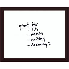 All Motivational Posters - Espresso Glass Dry-Erase Board - Medium Office Art