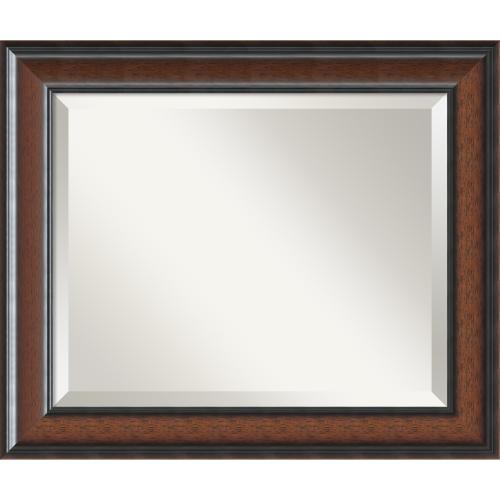 Cyprus Walnut Mirror - Medium Office Art