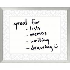 All Motivational Posters - Soft Grey Damask Dry-Erase Board - Medium Office Art
