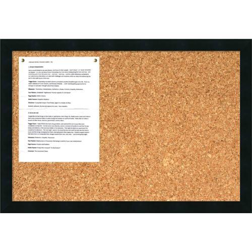 Mezzanotte Cork Board - Medium Office Art