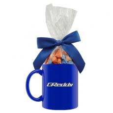 Candy, Food & Gifts - Ceramic Mug with Corporate Color Chocolates