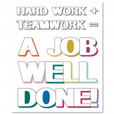 New Products - Job Well Done Inspirational Art