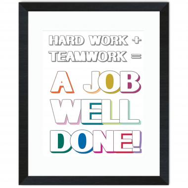 Job Well Done Inspirational Art