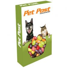Candy, Food & Gifts - Customizable Paw Box Packaging with Jelly Beans