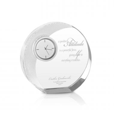 Power of Attitude Crystal Clock Award