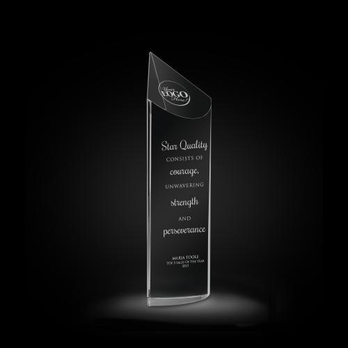 Star Quality Crystal Obelisk Award