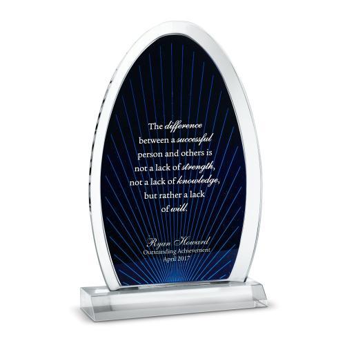 Beam of Light Acrylic Award