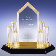 Acrylic Trophies - Rise Above Acrylic Award