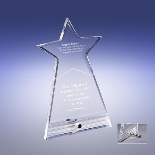 Star Acrylic Award
