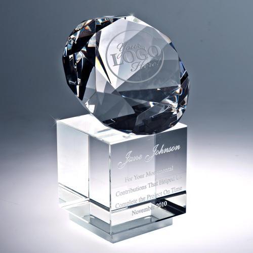 Precious Gem Crystal Award