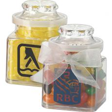 Home & Family - Plastic Jar filled with stock design wrapped candy