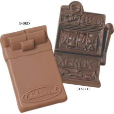 Technology & Electronics - Custom Molded Chocolate Shape - Bed
