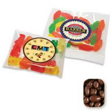 Candy, Food & Gifts - Milk Chocolate Peanuts in Large Handful Pillow Bag