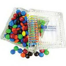 Technology & Electronics - Glass Candy Dish Filled with Jolly Ranchers