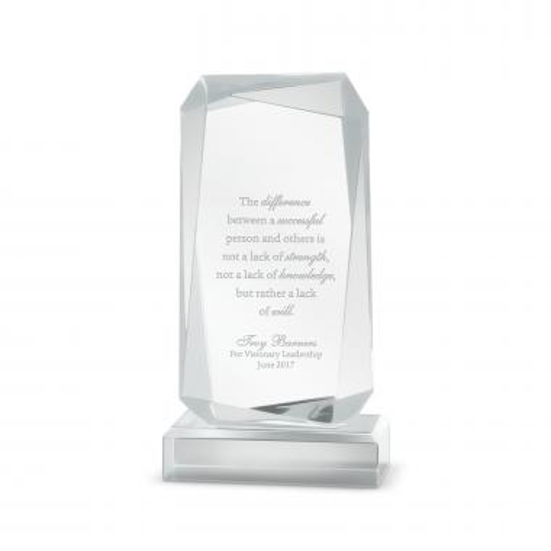 Outstanding Effort Acrylic Award